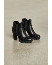 BCBGeneration - Lug Sole Ankle Boots - Lyst