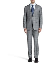 Ermenegildo Zegna Glen Plaid Two-piece Suit - Lyst