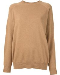 Alexander Wang Sheer Panel Sweater - Lyst