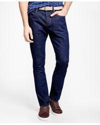 Brooks Brothers   116 Slim Fit Denim Jeans   Lyst