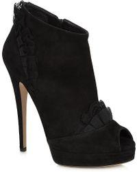 Casadei Ashbourne Suede Shoe Boot - Lyst