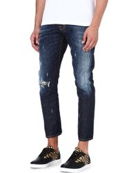 DSquared2 Kenny Regularfit Tapered Jeans Blue - Lyst