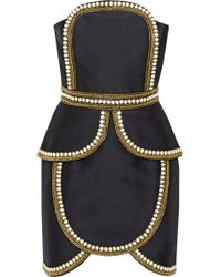 Sass & Bide The Cold Snap Embellished Cotton and Silkblend Dress - Lyst