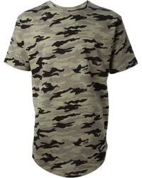 Les (art)ists Wang 83 Camouflage Football T-shirt - Lyst