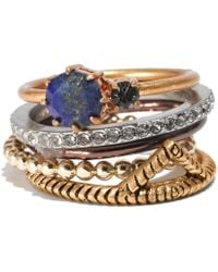 Madewell Mixtape Stacking Rings - Lyst