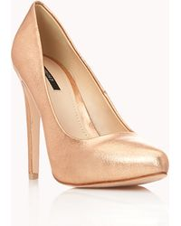 Forever 21 - New Heights Stiletto Court Shoes - Lyst
