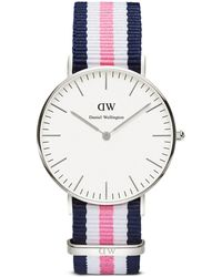 Daniel Wellington Classic Southampton Watch, 36Mm pink - Lyst