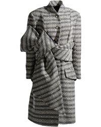 John Galliano Black Coat - Lyst