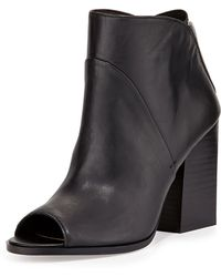 Report Signature Blare Zip-detail Ankle Boot - Lyst