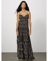 Denim & Supply Ralph Lauren Ruched Cotton Mina Maxidress - Lyst