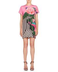 Mary Katrantzou   Molli Printed Silk Shift Dress   Lyst