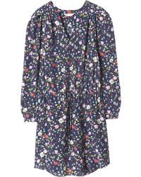 Rebecca Taylor | Long Sleeve Tapestry Garden Dress | Lyst
