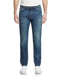 Dolce & Gabbana Whiskered Straight-Leg Jeans - Lyst