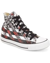 Converse Chuck Taylor All Star 'Washed Flag' High Top Sneaker - Lyst