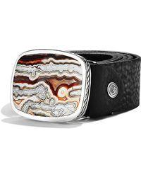 David Yurman - Exotic Stone Belt Buckle - Lyst