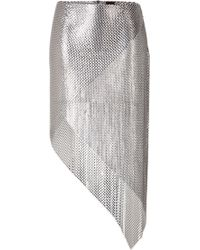 Paco Rabanne Chain Metal Skirt - Lyst