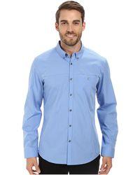 Calvin Klein Mini Gingham Check Woven Shirt - Lyst