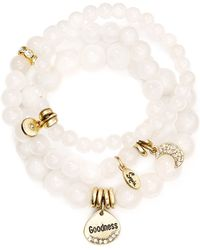 Sequin - Goodness Moon Bracelets, Set Of 3 - Lyst