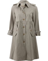 Michael Kors Empire Trench - Lyst