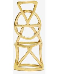 Nasty Gal Species By The Thousands Alchemy Ring - Lyst