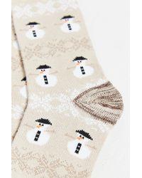 O'Hanlon Mills - Snowman Boot Sock - Lyst