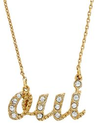 Juicy Couture - Oui Necklace - Lyst