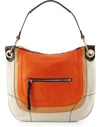 orYANY Samara Colorblock Hobo Bag orange - Lyst