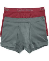 Calvin Klein Mens Body Trunks 2 Pack - Lyst