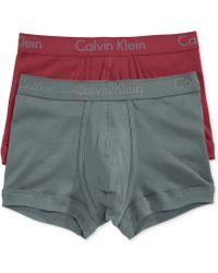Calvin Klein Men'S Body Trunks 2-Pack U1804 - Lyst
