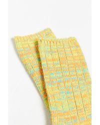 O'Hanlon Mills | Chunky Knit Twisted Marled Boot Sock | Lyst
