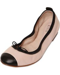 Bloch - Luxury Two-tone Patent-leather Ballet Flats - Lyst