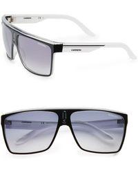 Carrera 63Mm Rectangular Aviator Sunglasses - Lyst