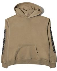 Yeezy - Calabasas Embroidered French Terry Hoodie - Lyst