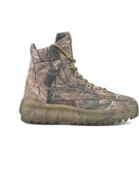 Yeezy - Canvas Military Boot - Lyst