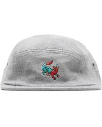f3d99f08aa3 Lyst - By Parra 6 Panel Hat Painterly Script in Blue