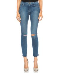 Frame Denim Le High Skinny - Lyst
