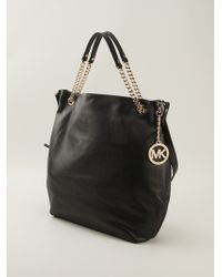 Michael by Michael Kors Chain Handles Slouchy Tote Bag - Lyst