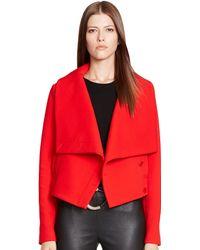 Ralph Lauren Black Label Wool-blend Brooke Jacket - Lyst