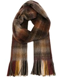 Our Legacy - Checked Scarf - Lyst