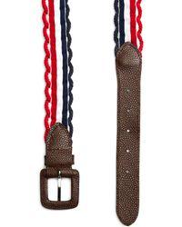 Brooks Brothers - Rope Belt - Lyst