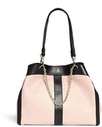 See By Chloé 'Beki' Medium Grainy Leather Chain Tote - Lyst