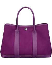 Hermes Purple Garden Party - Lyst