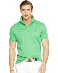 Polo Ralph Lauren Pima Soft-Touch Polo Shirt - Lyst