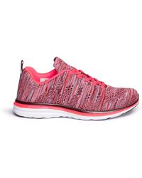 Apl | ''techloom Pro' Marled Knit Sneakers | Lyst