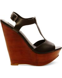 Steve Madden Women'S Bittles Platform Wedge Sandals - Lyst