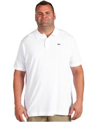 Lacoste Big S/S Classic Pique Polo Shirt - Lyst