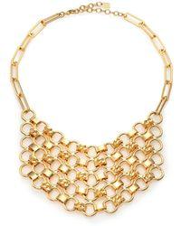 DANNIJO | Plimpton Chain Bib Necklace | Lyst