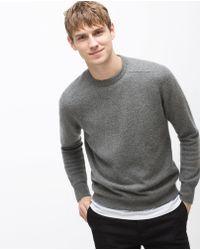 Zara   Wool Sweater   Lyst