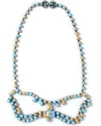 Tom Binns - Crystal Bow Necklace - Lyst