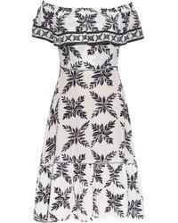 Easton Pearson Take Away | Aloha Frond-print Silk Dress | Lyst